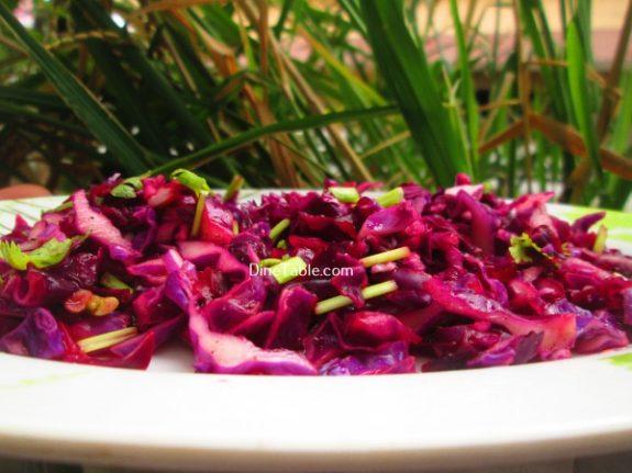 Red Cabbage Detox Salad Recipe / Delicious Salad