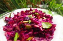 Red Cabbage Detox Salad Recipe / Tasty Salad