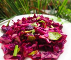 Red Cabbage Detox Salad Recipe / Tasty Salad