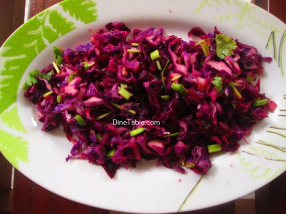 Red Cabbage Detox Salad Recipe / Easy Salad