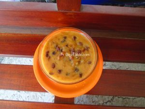 Sago Payasam Using Jaggery Recipe