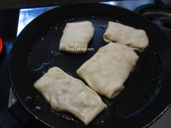 Apple Crepes Recipe / Fried Dish