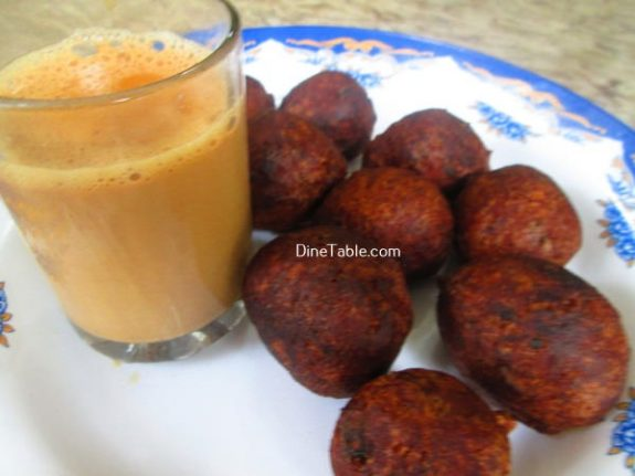 Banana Wheat Bonda Recipe / Soft Bonda