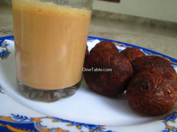 Banana Wheat Bonda Recipe / Quick Bonda