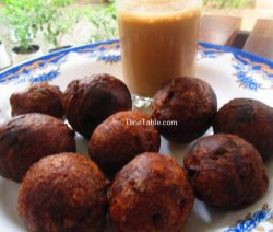 Banana Wheat Bonda Recipe