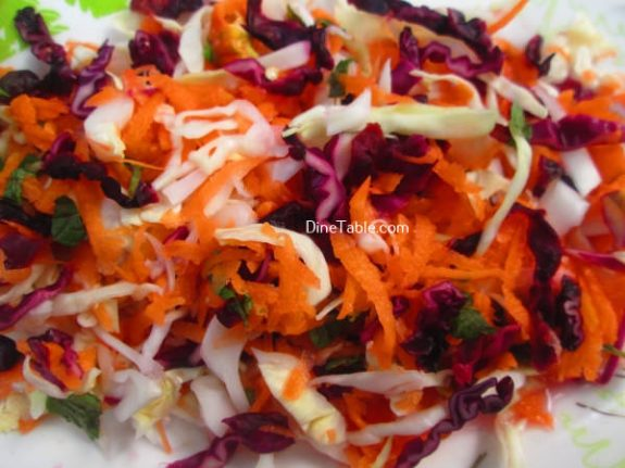 Aegean Slaw Recipe / Tasty Salad