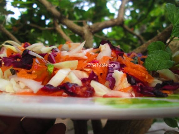 Aegean Slaw Recipe / Easy Salad
