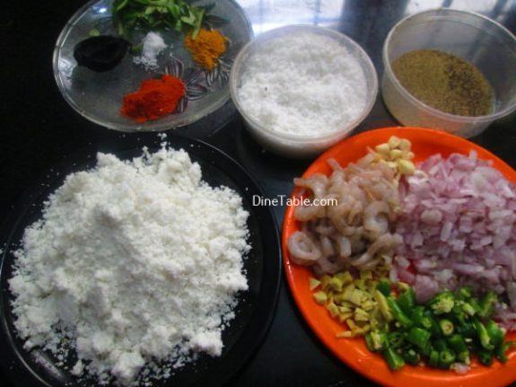 Chemmeen Puttu Recipe - Simple Puttu