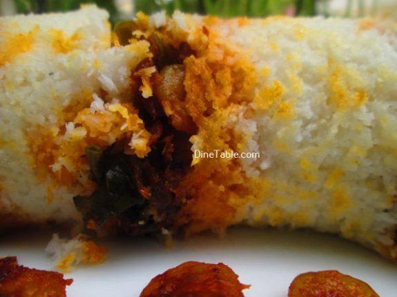 Chemmeen Puttu Recipe / Kerala Puttu