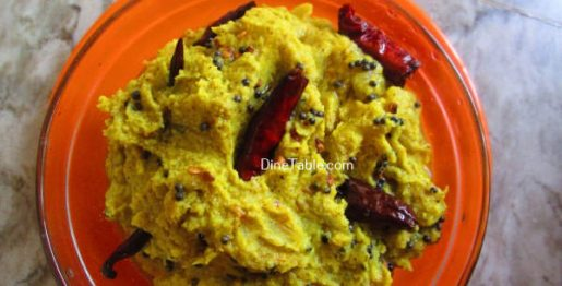 Kappa Chembin Thaal Curry Recipe - Crunchy Curry