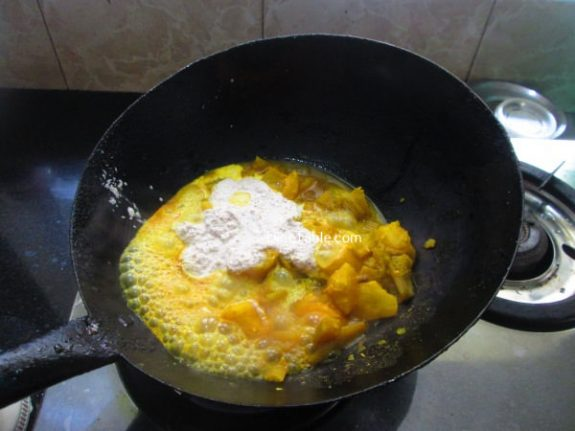 Kappa Chembin Thaal Curry Recipe - Yummy Curry