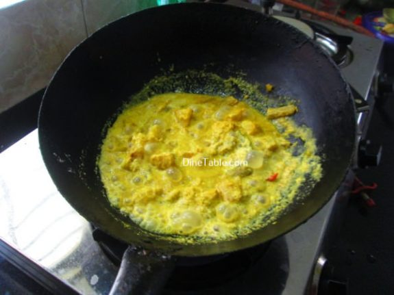 Kappa Chembin Thaal Curry Recipe - Quick Curry