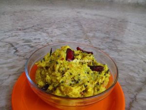 Kappa Chembin Thaal Curry Recipe
