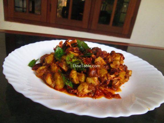 Koorka Beef Ularthiyathu Recipe / Delicious Dish