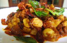 .Koorka Beef Ularthiyathu Recipe / Ularthiyathu Dish