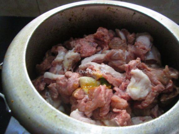 Koorka Beef Ularthiyathu Recipe / Easy Dish
