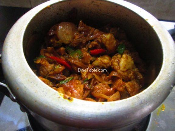 Koorka Beef Ularthiyathu Recipe / Tasty Dish