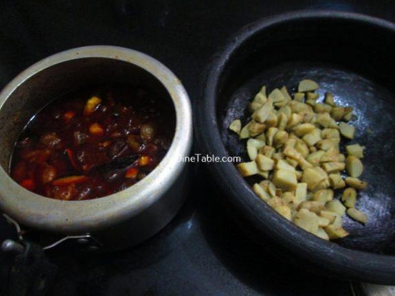 Koorka Beef Ularthiyathu Recipe / Koorka Beef Dish