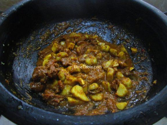 Koorka Beef Ularthiyathu Recipe / Beef Dish