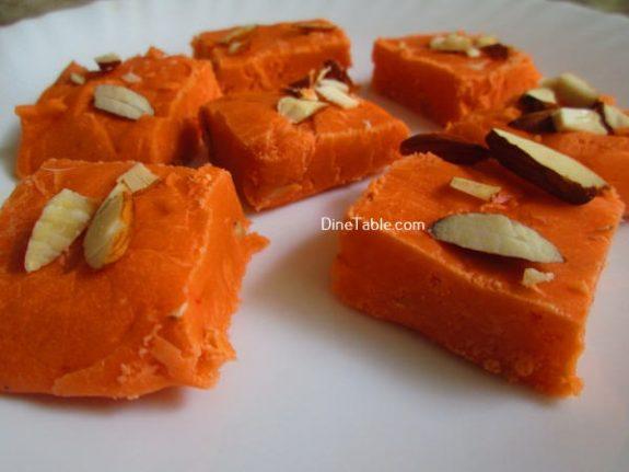 Maida Burfi Recipe / Nutritious Burfi