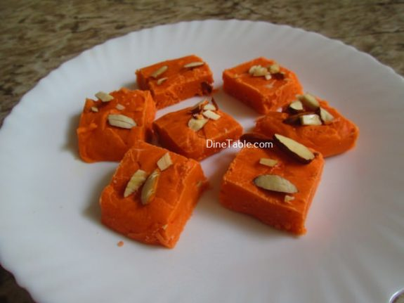 Maida Burfi Recipe / Easy Burfi