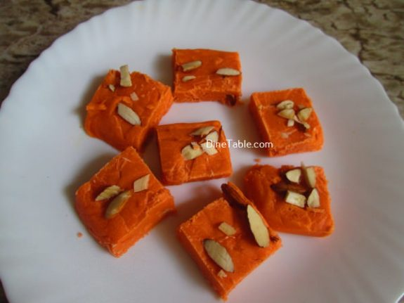 Maida Burfi Recipe / Simple Burfi