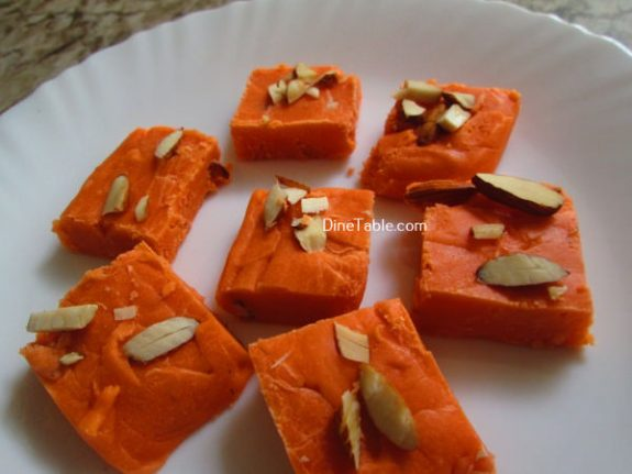 Maida Burfi Recipe / Kids Burfi