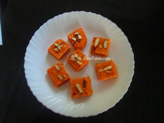 Maida Burfi Recipe / Healthy Burfi