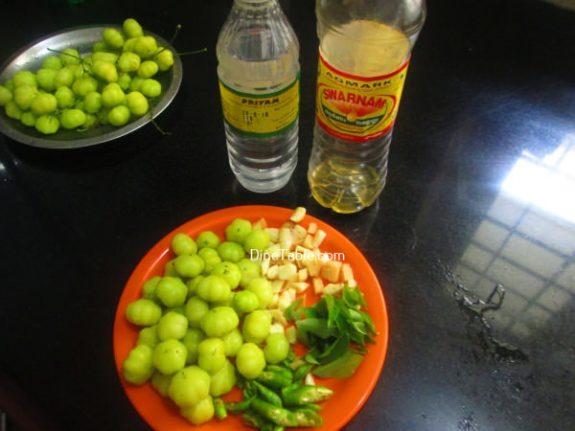 Nelli Puli Achar Recipe - Simple Pickle