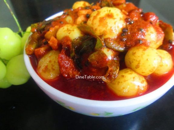 Nelli Puli Achar Recipe - Spicy Pickle