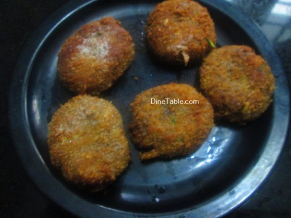 Vazhakoombu Cutlet Recipe - Vegetriarian Cutlet