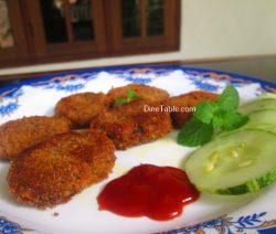 Vazhakoombu Cutlet Recipe - Homemade Cutlet