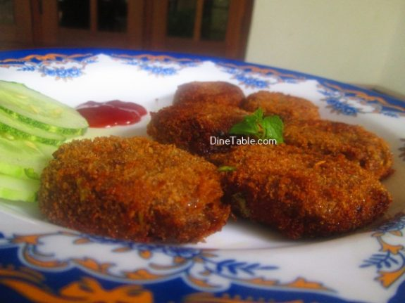 Vazhakoombu Cutlet Recipe - Spicy Cutlet