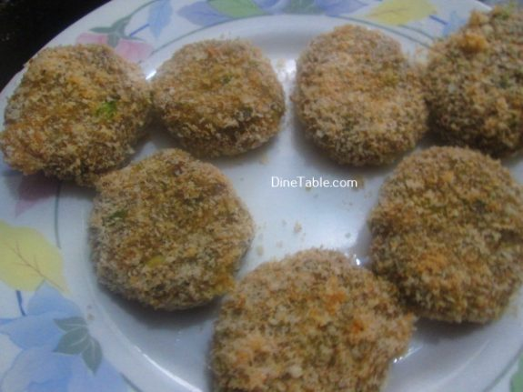 Vazhakoombu Cutlet Recipe - Vegetable Cutlet