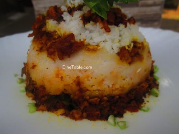 Chicken Puttu Recipe / Spicy Puttu