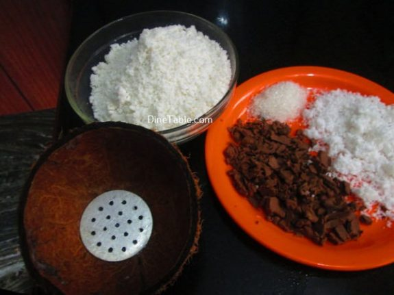 Chocolate Puttu Recipe / Tasty Puttu