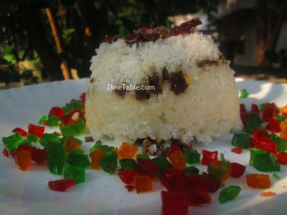 Chocolate Puttu Recipe / Delicious Puttu