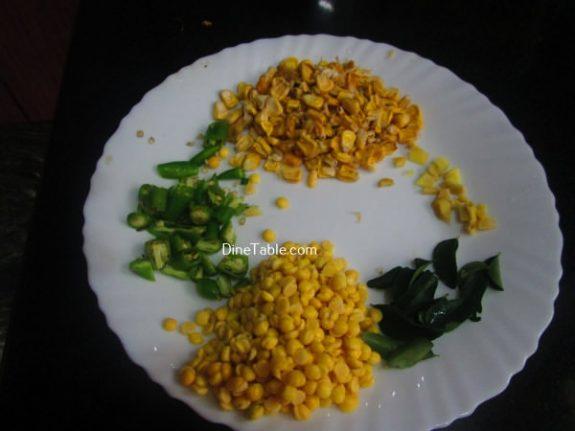 Corn Vada Recipe / Nutritious vada