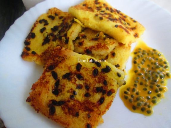 Passion Fruit French Toast Recipe / Crunchy Dish