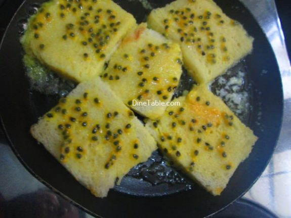 Passion Fruit French Toast Recipe / Snack Dish