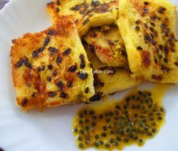Passion Fruit French Toast Recipe / Quick Dish