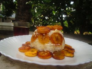 Roasted Banana Puttu Recipe