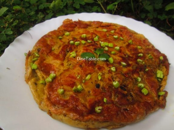Spanish Omelette Recipe / Quick Omelette