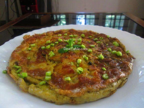 Spanish Omelette Recipe / Crunchy Omelette