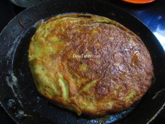 Spanish Omelette Recipe / Egg Omelette