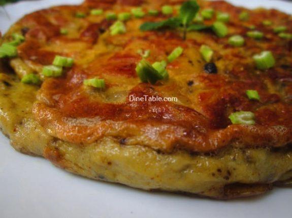 Spanish Omelette Recipe / Homemade Omelette