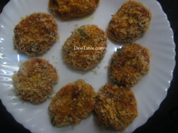 Tapioca Fish Cutlet Recipe / Snack Cutlet