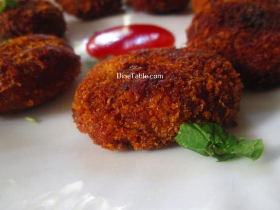 Tapioca Fish Cutlet Recipe / Easy Cutlet
