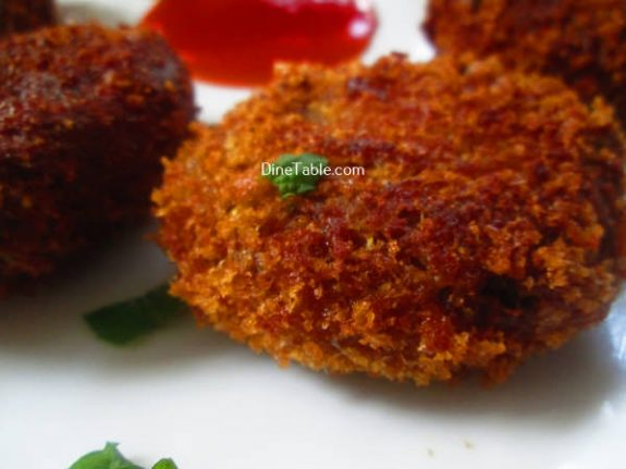 Tapioca Fish Cutlet Recipe