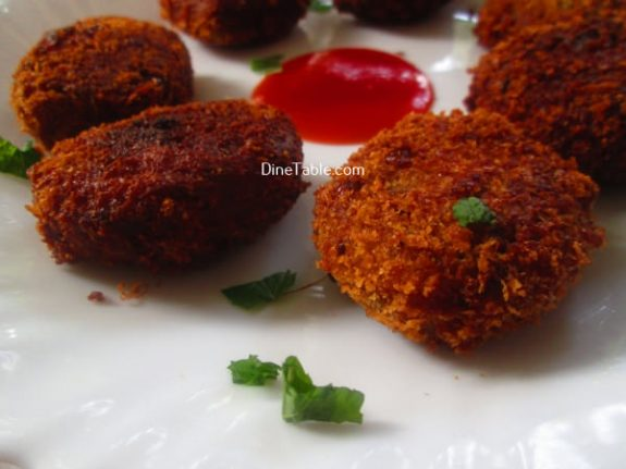 Tapioca Fish Cutlet Recipe / Tasty Cutlet